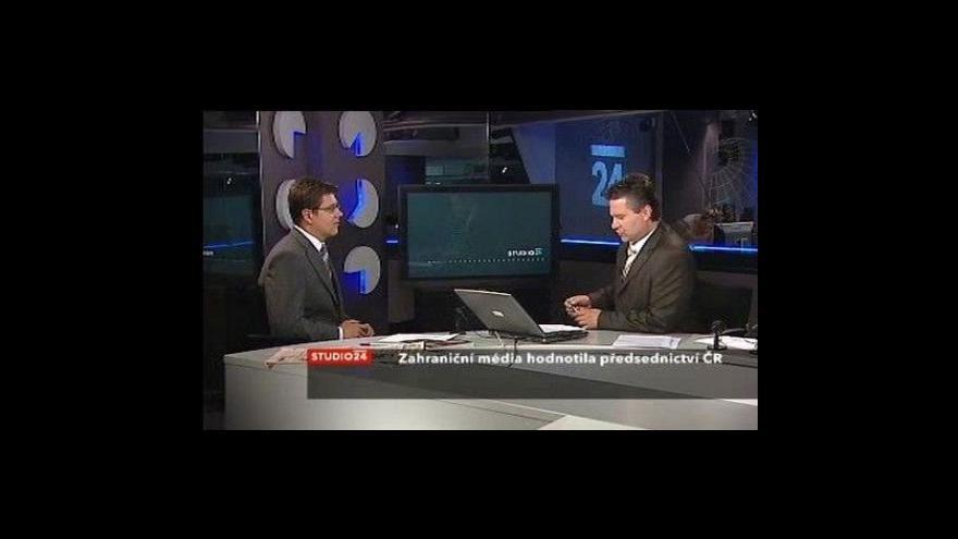 Video Hodnocení českého předsednictví zahraničním tiskem