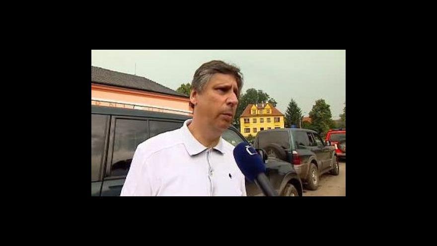 Video Vyjádření Jana Fischera k povodním