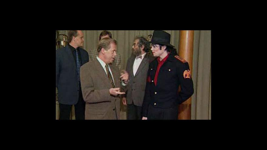 Video ČT o úmrtí Michaela Jacksona