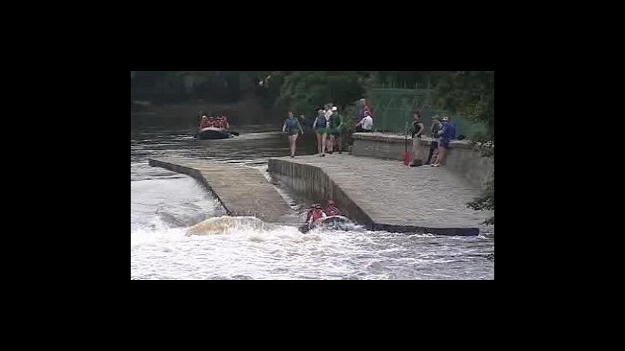 Video Filip Kolman z raftklubu ve Studiu  ČT24