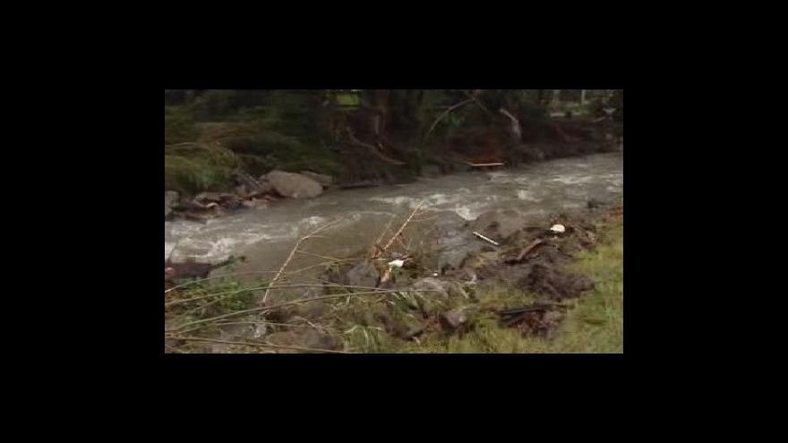 Video Sčítají se povodňové škody