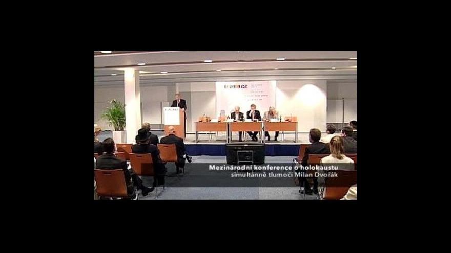 Video Mezinárodní konference o holokaustu
