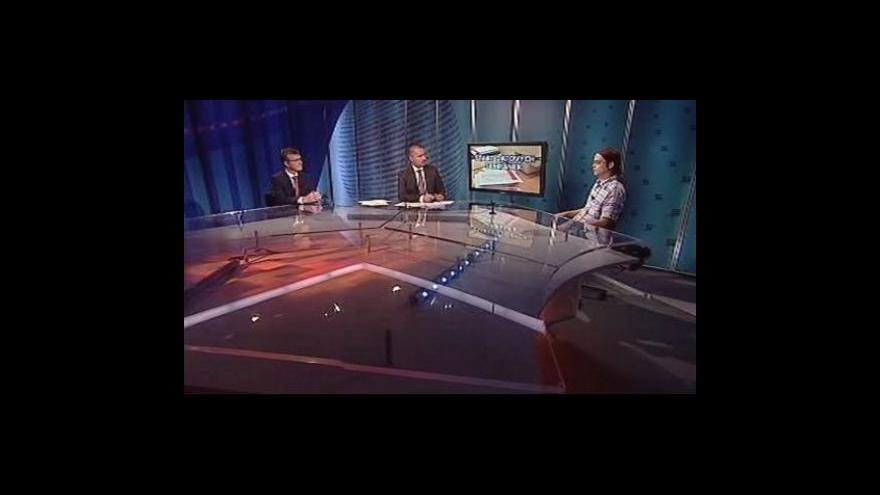 Video Zdeněk Zajíček a Filip Pospíšil v Událostech, komentářích