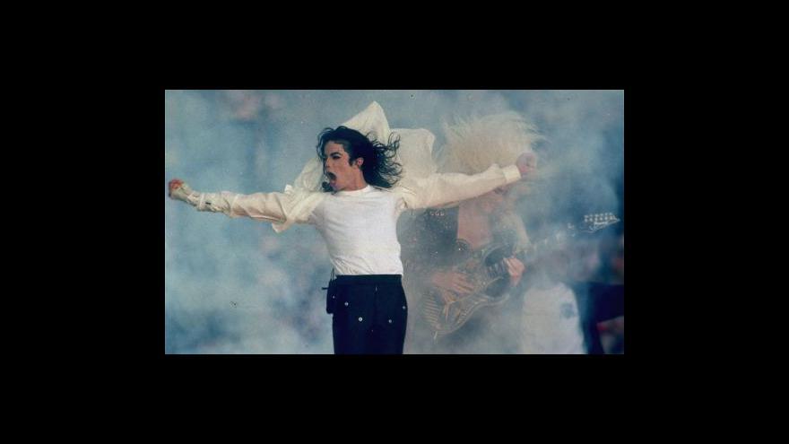 Video Michael Jackson - koncerty v Londýně