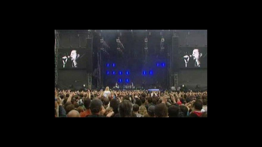 Video Depeche Mode koncertovali v Česku