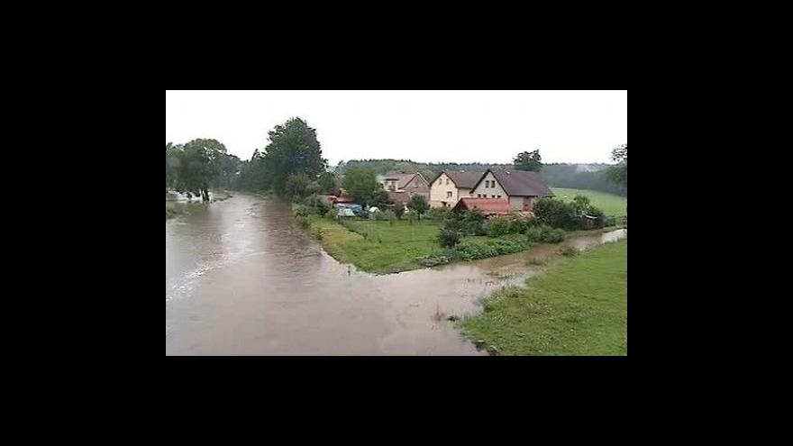 Video Česko zasáhly povodně