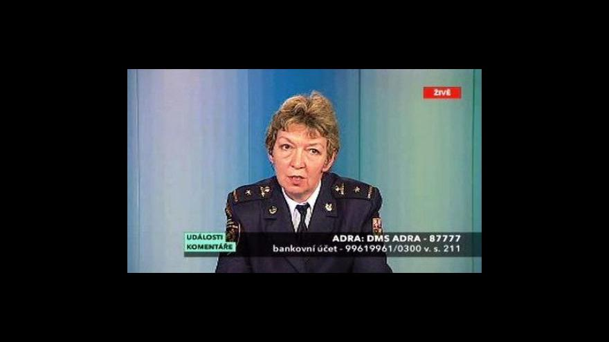 Video Události, komentáře s Marcelou Kopaňákovou