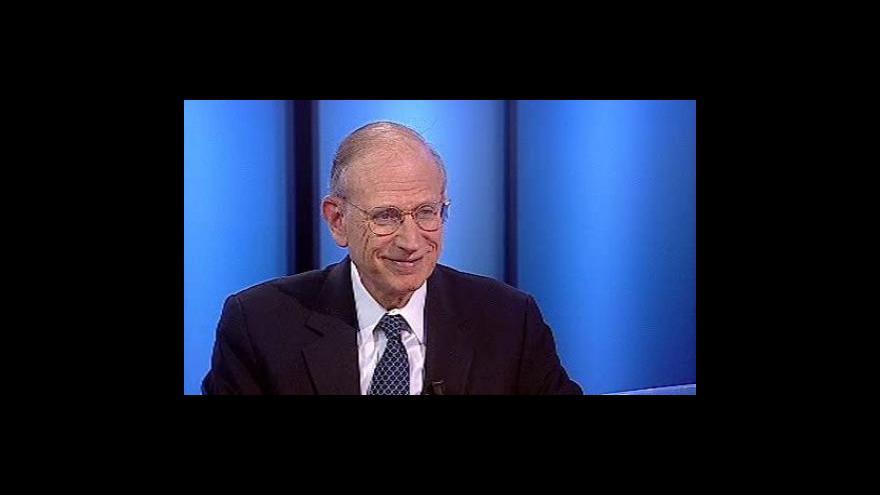 Video Diplomat Stuart Eizenstat ve Studiu ČT24