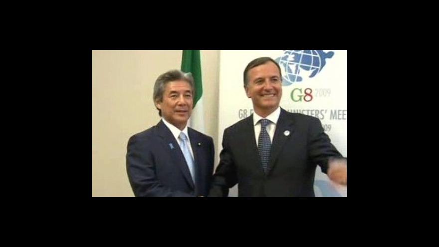 Video G8 zaujme pevný postoj k situaci v Íránu