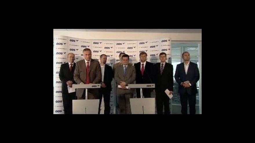Video Brífink ODS k zhodnocení předsednictví EU