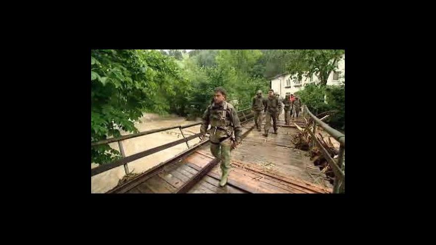 Video Povodně v Rakousku