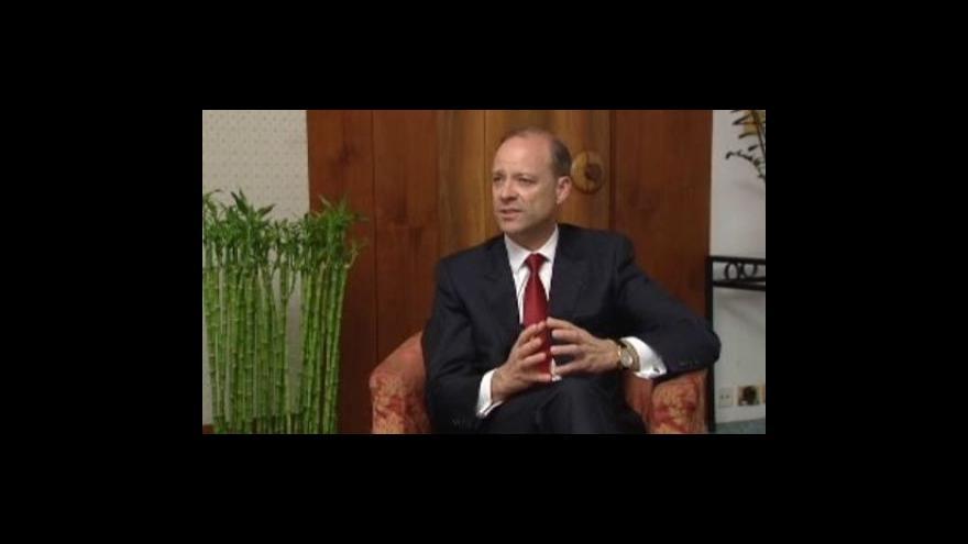 Video Reportáž Michaly Hergetové, rozhovor s Chrisem Viehbacherem