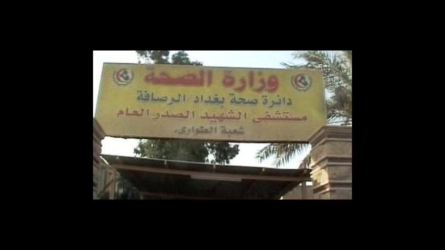 Video Bombový útok v Iráku