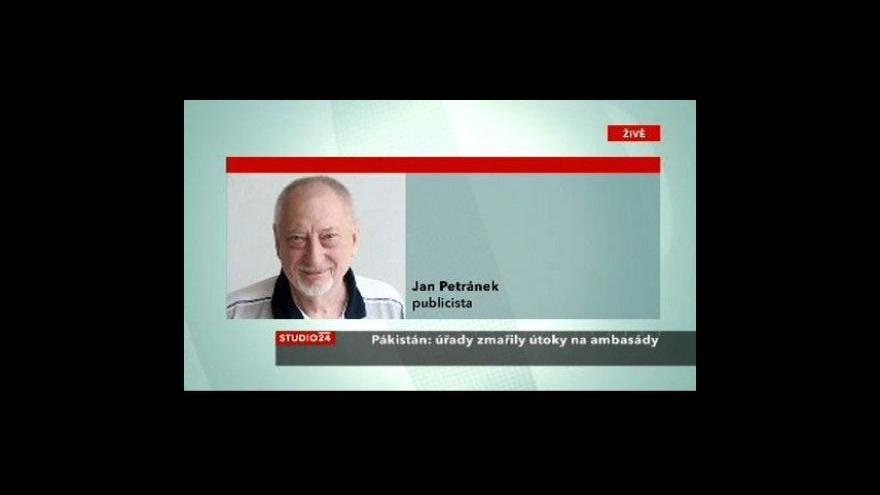 Video Telefonát Jana Petránka
