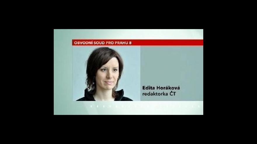 Video Telefonát Edity Horákové