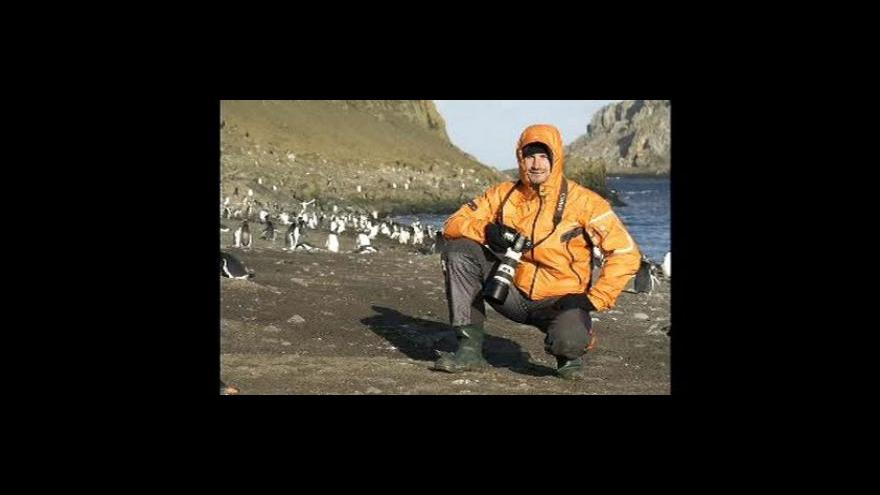 Video Rozhovor s cestovatele Karlem Wolfem
