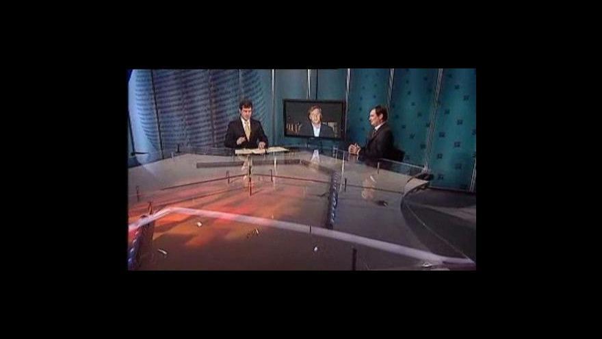 Video Události, komentáře s Petrem Bendlem a Davidem Rathem