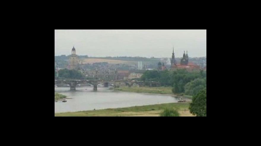 Video Události, komentáře o mostu v Drážďanech