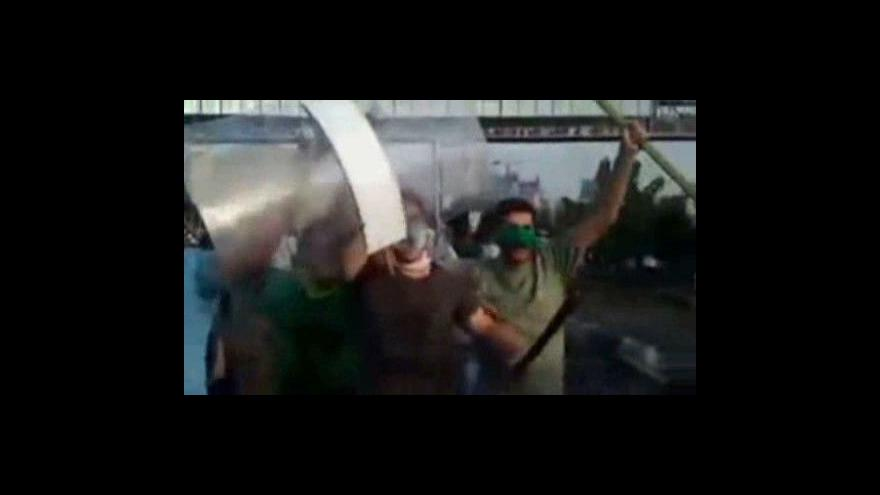 Video Protesty v Iránu budou pokračovat