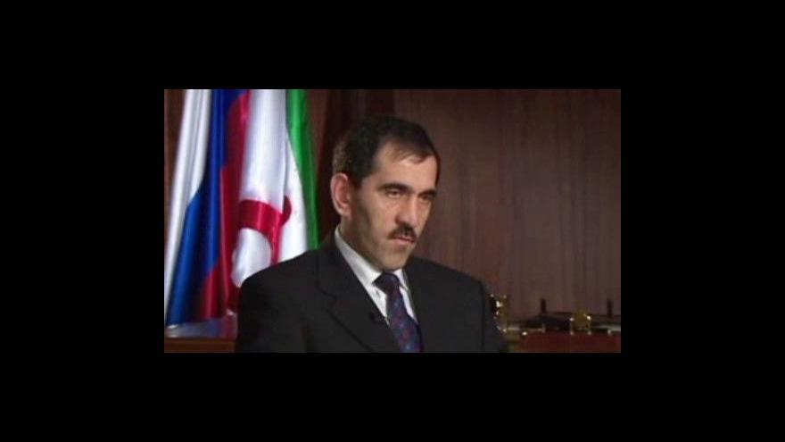 Video Na prezidenta Ingušska byl spáchán atentát