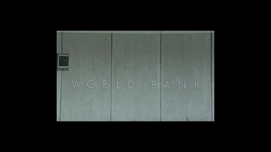 Video Světová banka změnila výhled světové ekonomiky
