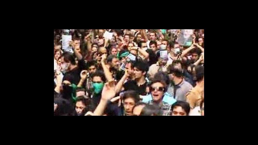 Video Íránská opozice připravuje další protesty