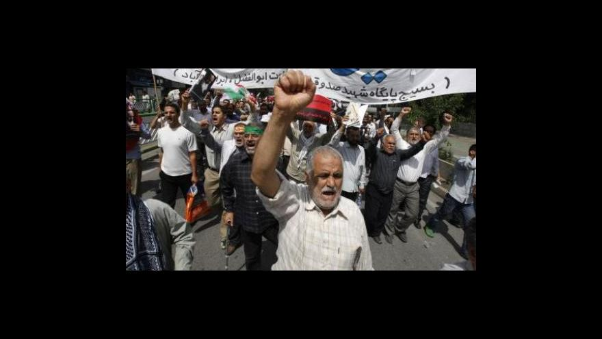 Video Studio ČT24  o situaci v Íránu