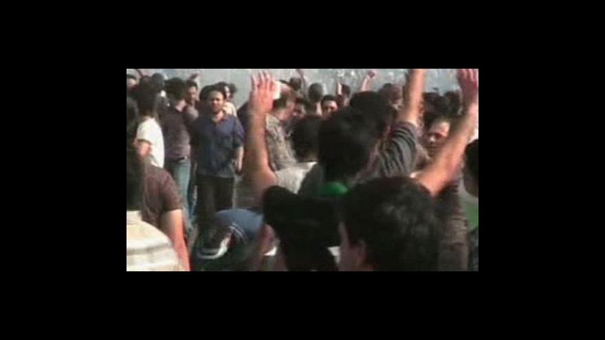 Video Politické střety v Íránu pokračují