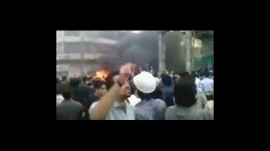 Video V Íránu je nejméně 10 mrtvých