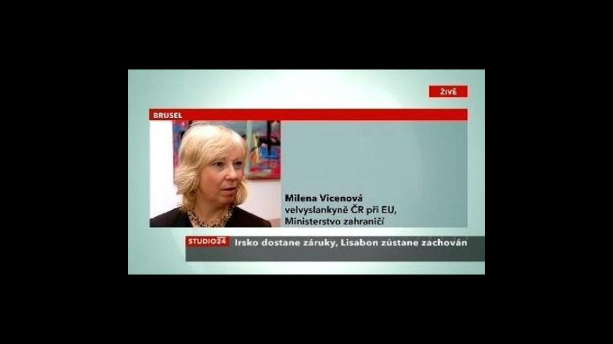 Video Telefonát Mileny Vicenové