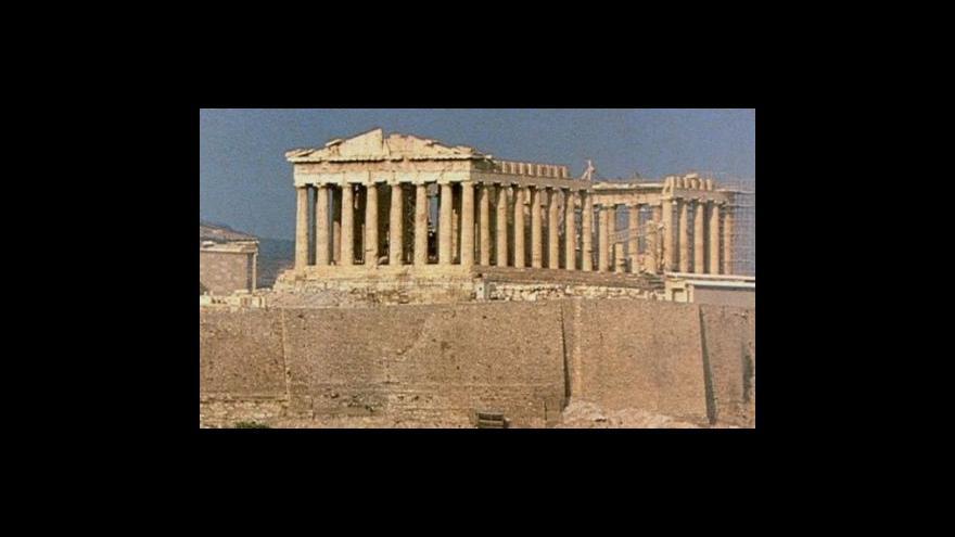 Video Nové muzeum Akropole v Athénách