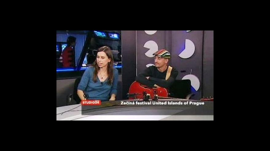 Video Skupina Longital ve Studiu ČT24