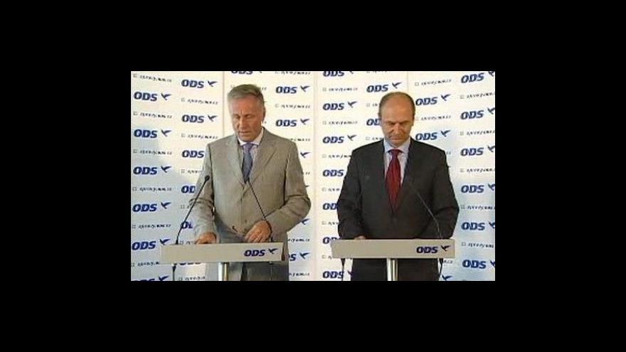 Video Brífink Mirka Topolánka k výzvě nelevicovým subjektům