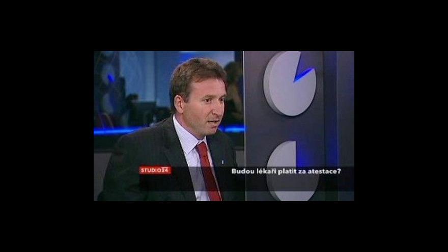 Video Rozhovor s prezidentem ČLK a mluvčím ministerstva zdravotnictví