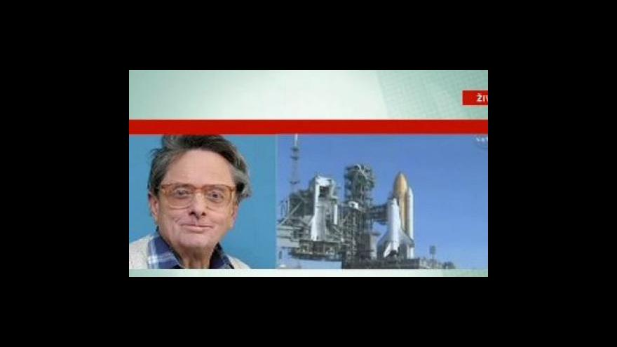 Video Telefonát odborníka na kosmonautiku Antonína Vítka