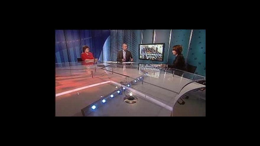 Video Události, komentáře o antidiskriminačním zákoně
