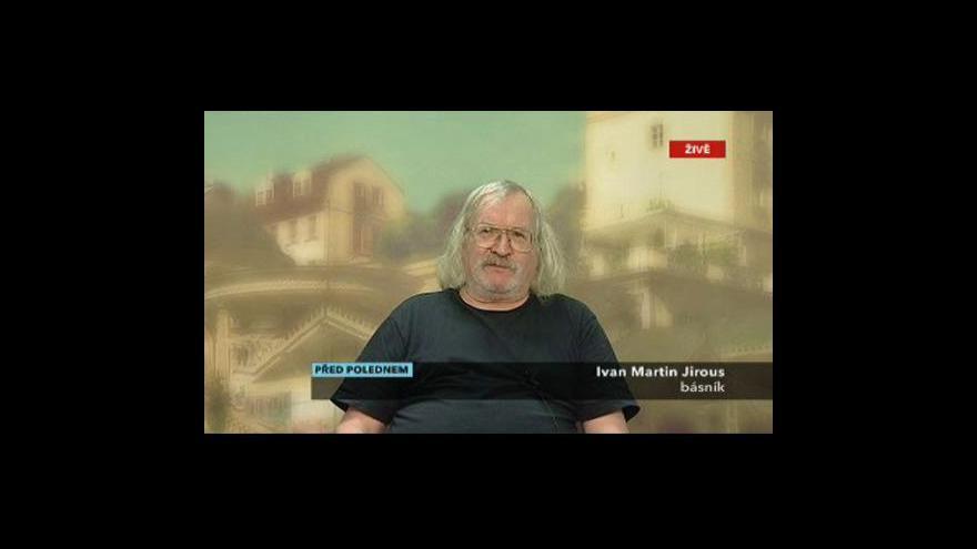 Video Rozhovor s I. M. Jirousem