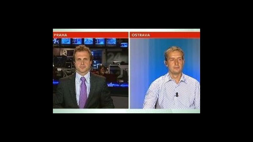 Video Rozhovor s Karlem Tejkalem ve Studiu ČT24