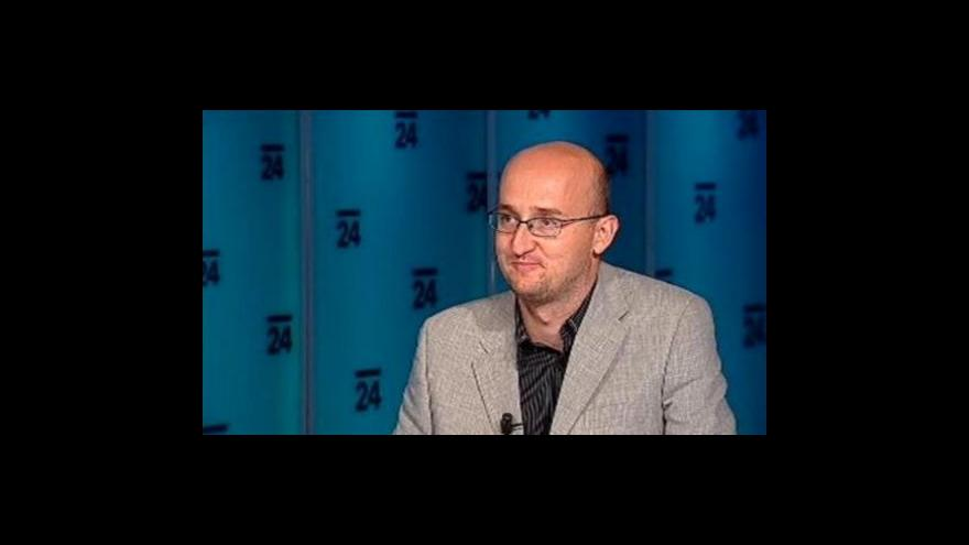 Video Petr Zavadil v pořadu Události, komentáře