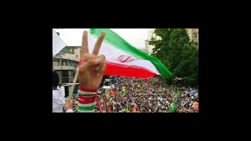 Video Írán přepočítá volební hlasy