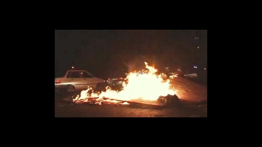 Video Nejméně sedm obětí nepokojů v Íránu