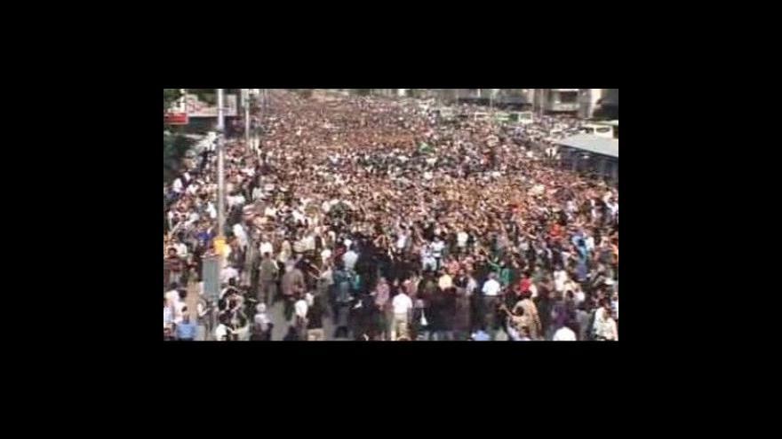 Video Nepokoje v Íránu