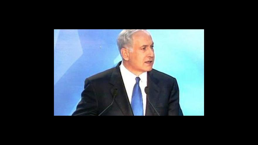 Video Projev Benjamina Netanjahua na univerzitě v Tel Avivu