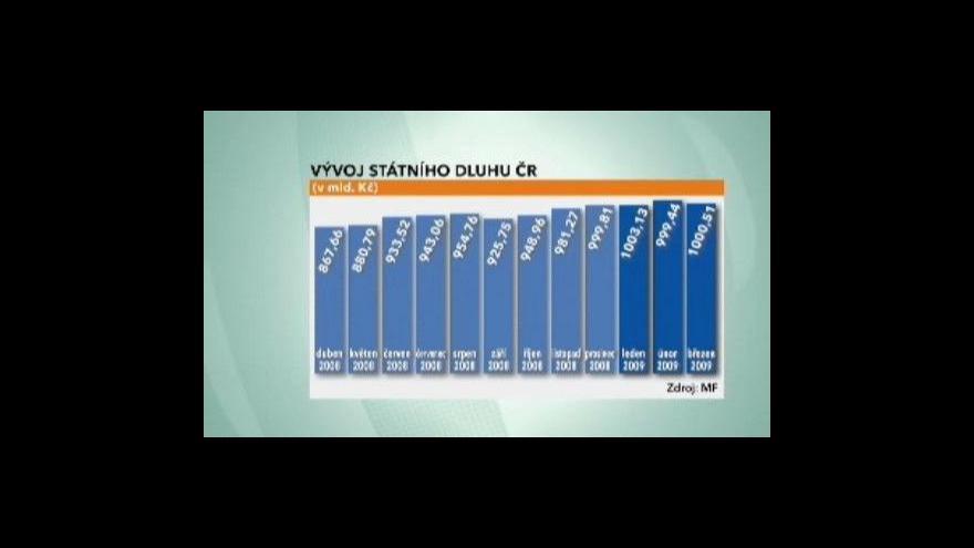 Video Český dluh přeskočil laťku ve výši jednoho bilionu korun