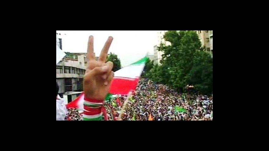 Video Studio 6 o nepokojích v Íránu