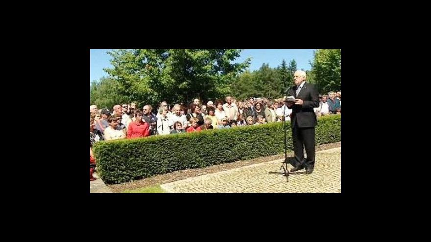 Video Projev Václava Klause k 67. výročí vypálení Lidic