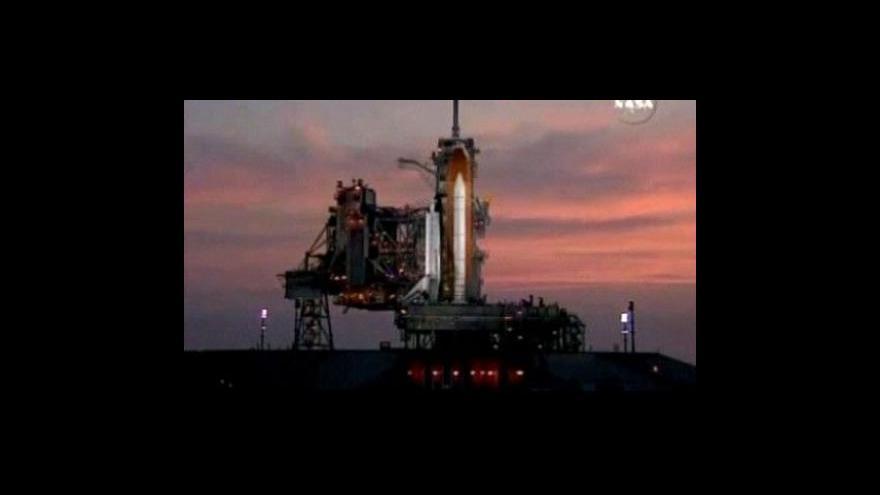 Video Start raketoplánu se odkládá
