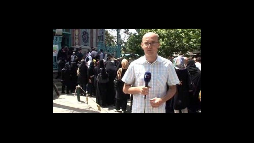 Video Reportáž a vstup Petra Zavadila