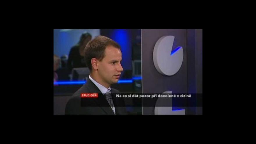 Video Jan Šenkýř k novinkám ministerstva zahraničních věcí