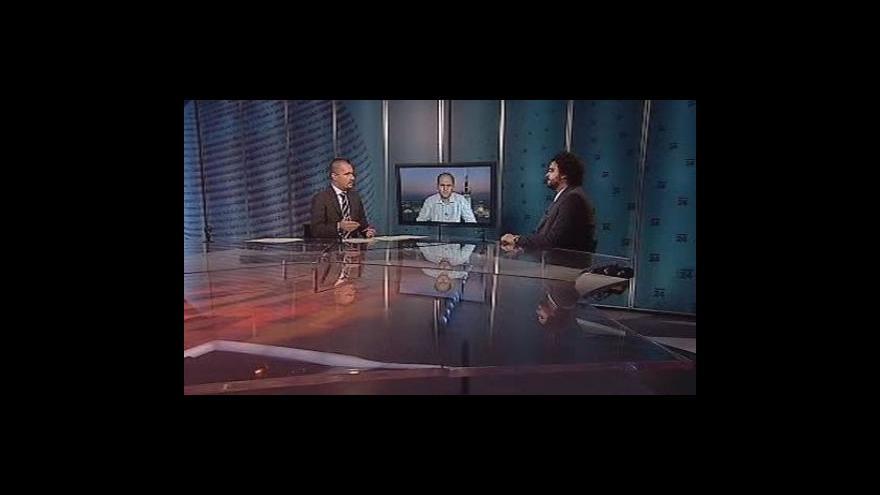 Video Erik Tabery a Pavel Šaradín v Událostech, komentářích